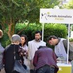 El PACMA de Ciudad Real sale a la calle en busca de firmas para poder concurrir a las próximas elecciones generales