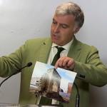 El PP denuncia la utilización de maquinaria en el entorno del Arco del Torreón y la excavación de sus cimientos sin la preceptiva autorización