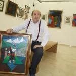 Puertollano: La geometría pictórica de Rafael Revuelto en una retrospectiva en el Museo Municipal