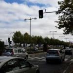 Ciudad Real:Comienza a funcionar el semáforo entreel Quijote Arena y la Vía Verde