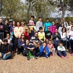 Puertollano: Padres, niños y jóvenes compartieron una jornada senderista con la Concejalía de Juventud