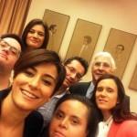 Isabel Rodríguez recibe la visita en el Congreso de los Diputados de los responsables de 'Ser capaces', programa de Cadena Ser Ciudad Real