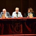 """El libro """"Y los españoles emigraron"""", del actor y periodista Conrado Granado, se presentó en el Patio de Comedias de Torralba"""