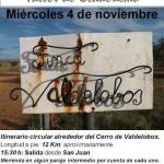 Argamasilla de Calatrava: El cerro de Valdelobos, próximo recorrido en el programa de senderismo para mayores