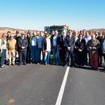 La Diputación invierte un millón de euros en la mejora de la carretera que une Viso con Bazán