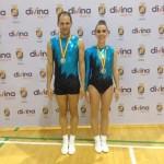 Una pareja de Puertollano se proclama subcampeona de la Copa de España de Aerobic