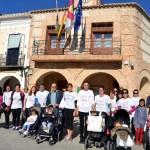 Animada marcha en Carrión de Calatrava contra la violencia de género