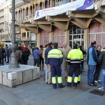Otra protesta en el pleno: Los afectados de la bolsa del 29N reclamarán ante la Corporación la repetición del examen