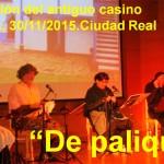 El 30 de noviembre podrás pasar un rato «De palique» en el Antiguo Casino