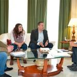 La Diputación estudiará posibles vías de colaboración con la Fundación Secretariado Gitano