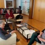 Puertollano: El colectivo de discapacitados de la región traslada sus propuestas a Mayte Fernández