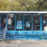 El camión de la fibra de Movistar recala en Puertollano