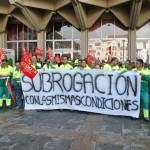 """Ciudad Real: Los trabajadores de la contrata de parques y jardines inician movilizaciones ante la """"incertidumbre"""" sobre su futuro"""