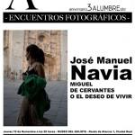 Tercer aniversario de Alumbre: Encuentro con José Manuel Navia en el Museo del Quijote