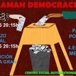 """El """"Pucherazo electoral"""" abre un ciclo de charlas de La Purga sobre sistema político español"""
