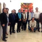 La exposición del reencuentro del colectivo Mancha 10, en el Museo Municipal dePuertollano