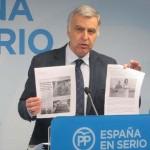 """Martín (PP): """"La empresa municipal de servicios será un monstruo de 200 trabajadores cuyo coste pagarán los vecinos"""""""