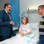 El consejero de Sanidad bendice el programa de 'parto humanizado' del Hospital de Talavera de la Reina