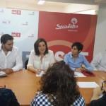 Patricia Franco se reúne con Juventudes Socialistas de Ciudad Real para presentarles el «ambicioso» Plan Extraordinario de Empleo