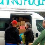 Ropa y mantas donadas por los ciudadrealeños parten rumbo a Siria
