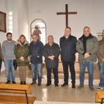 La alcaldesa visita la nueva ermita de la hermandad de San Isidro