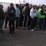 Seguimiento unánime de la primera jornada de huelga en Vestas Daimiel