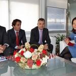 AQUONA presenta a Pilar Zamora sus apuestas en responsabilidad social corporativa