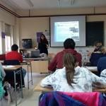 El IMPEFE desarrolla sesiones informativas en el I.E.S. Atenea sobre recursos de formación y empleo