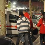 El Ayuntamiento costeará el traslado en taxi de las personas sin hogar al centro de Cáritas