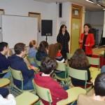 Ciudad Real: Zamora presenta en el IES Santa María de Alarcosuna aplicación contra la violencia de género