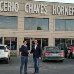 Fernández–Bravo (C's) continúa su agenda de visitas con la empresa ciudadrealeña Glicerio Chaves Hornero