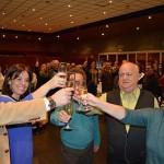La Corporación municipal brinda con las peñas de Ciudad Real