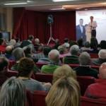 """Caballero pide aglutinar el voto en el PSOE para acabar con el """"abandono"""" de Rajoy al sector agrario y al mundo rural"""