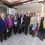 La Consejera de Bienestar Social visita las instalaciones para mayores y personas con discapacidad de Manzanares