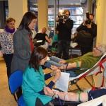 La alcaldesa de Ciudad Real hace un llamamiento a los ciudadanos a donar sangre