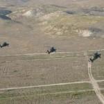 """Helicópteros del batallón de Almagro realizan su primer tiro del """"poderoso"""" misil aire-tierra Spike"""