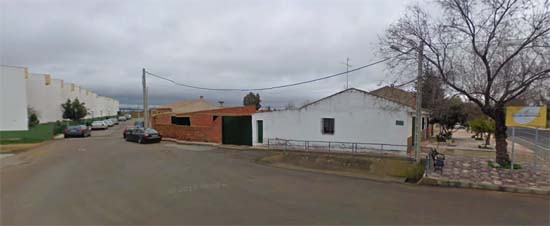 Entrada a la calle Badén de las Cañas (Foto: Google)