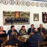 """Romero asegura que """"el PSOE y los radicales son un peligro real para España"""" en una reunión con los pandorgos"""