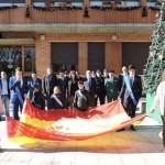 Torralba de Calatrava homenajeó a la Constitución Española con motivo de su 37 cumpleaños