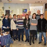 Pilar Zamora visita la tienda solidaria de SOLMAN