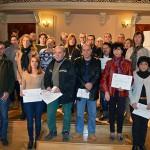 Entregados los diplomas de los Cursos de Informática para desempleados impartidos por el IMPEFE