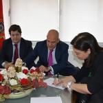 El Ayuntamiento firma con Globalcaja una cuenta de crédito por valor de 12 millones de euros