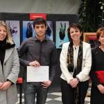 El Gobierno regional rinde homenaje al ganador de la fase regional del XVI Concurso Hispanoamericano de Ortografía