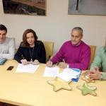 Argamasilla de Calatrava: Ayuntamiento y Veteranos de Calatrava firman un convenio para fomentar la práctica del fútbol
