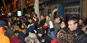 Público asistente a la cabalgata de Reyes