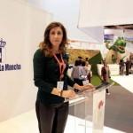 La alcaldesa de Carrión de Calatrava difunde los recursos turísticos en FITUR 2016, como Calatrava La Vieja
