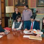 La Diputación aportará 200.000 euros para obras: Firmadas las escrituras de cesión de la Plaza de Toros de Ciudad Real