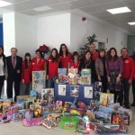 Cruz Roja y Allianz repartieron 129 juguetes en Ciudad Real