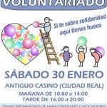 La I Feria del Voluntariado reunirá a más de 25 entidades y colectivos en el Antiguo Casino