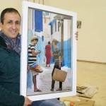 Puertollano: La creación pictórica de la fotografía en una exposición de José Antonio Fontal
